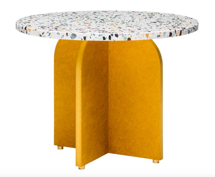 terrazzo table top from Crowdy House