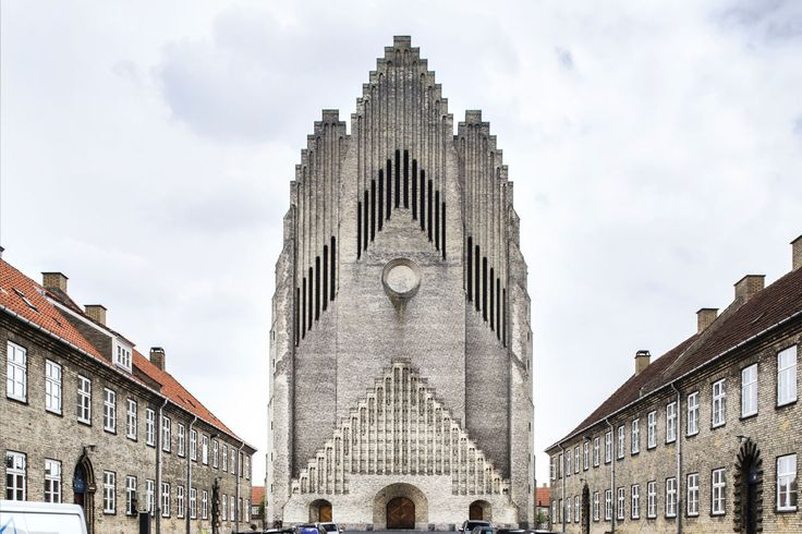 #Architecture in #Denmark - #Church by Peder Vilhelm Jensen-Klint, ph Roberto Conte
