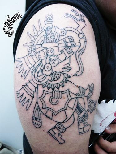 11 best tattoo images on pinterest dragon tattoo designs dragon tattoos and aztec. Black Bedroom Furniture Sets. Home Design Ideas