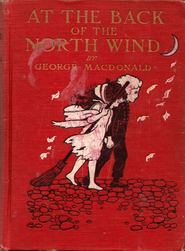 At the Back of the North Wind by George MacDonald, illustrated by Maria L. Kirk (1909)