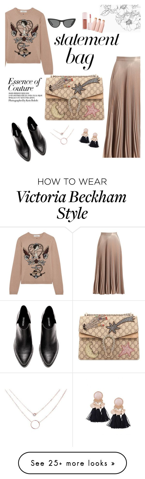"""""""Making Statements"""" by versastyle-sel on Polyvore featuring A.L.C., Valentino, Victoria, Victoria Beckham, Gucci and Puma"""