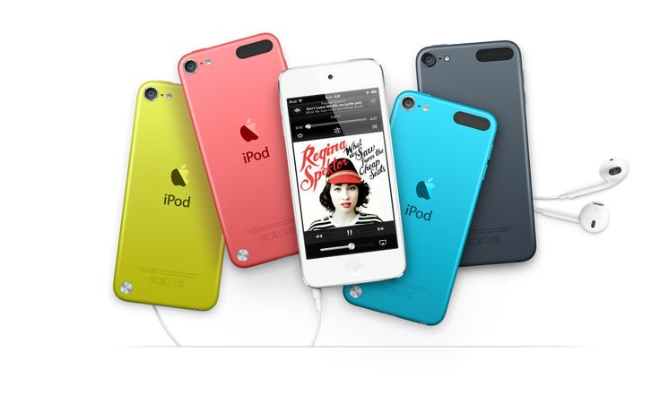 The NEW iPod touch 4th generation!! I'm glad I waited because now I can get it in my favorite color TURQUOISE!! =D