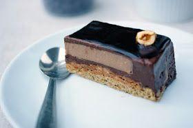The Wandering Girl: Entremet Café Chocolat Noisette... un goût de torréfaction
