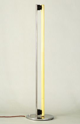 Eileen Grays' Tube Floor Light. Designed 1927. A timeless classic from a truly inspiring designer and architect.