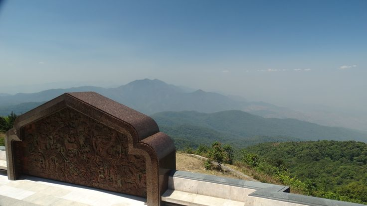 View from the King's Pagoda, Doi Inthanon, Thailand.