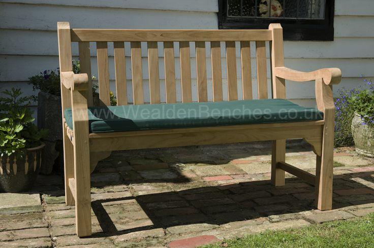Lovely Garden Bench cushions