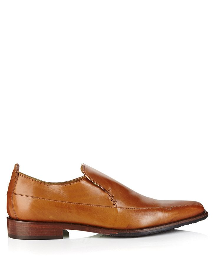 Popoli tan leather loafers by Oliver Sweeney on secretsales.com