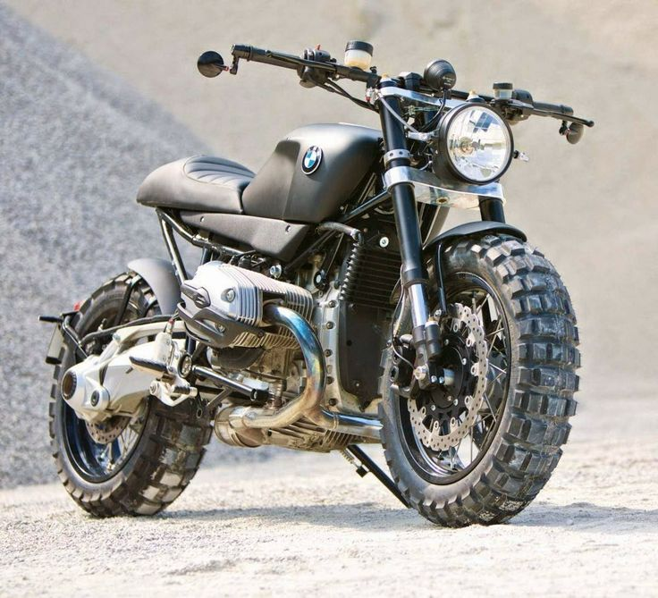 Marvelous Bmw Bikes #6: Their Latest Creation Is This BMW Transformation, A Beast Of A Bike Halfway  Between A Scrambler And A Cafe Racer.