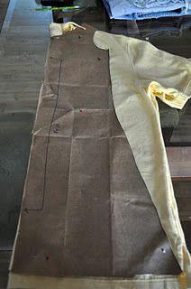 men's polo shirt refashion into dress