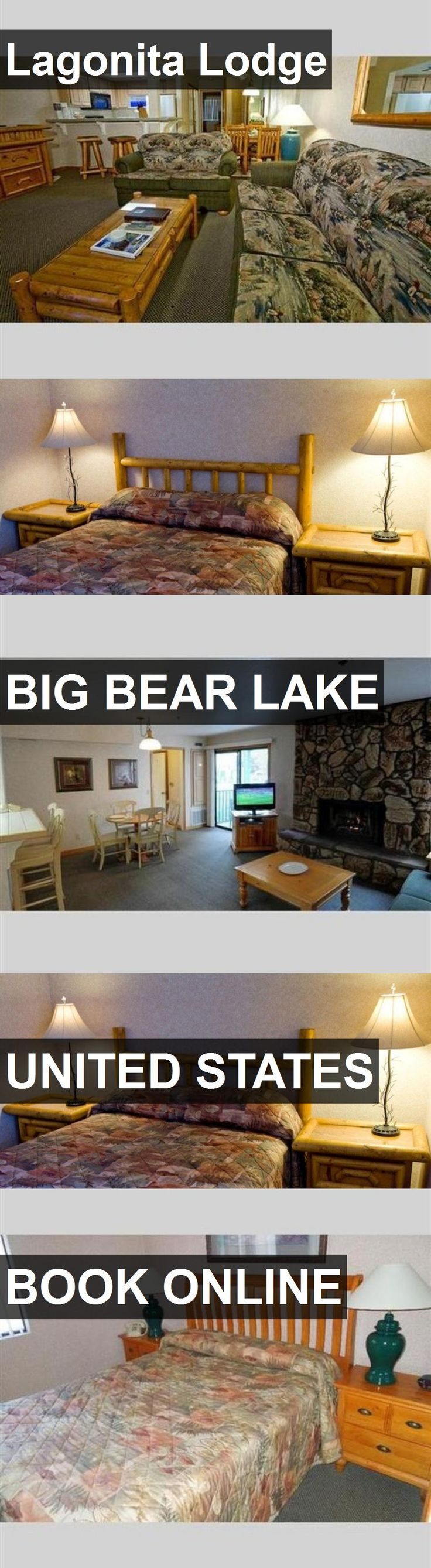 Hotel Lagonita Lodge in Big Bear Lake, United States. For more information, photos, reviews and best prices please follow the link. #UnitedStates #BigBearLake #travel #vacation #hotel