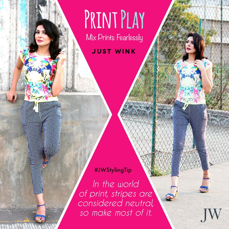 #JWstylingtip : Add up prints to have some print play ;)