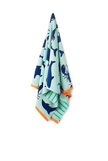 BOYS-Marine Kids Beach Towel
