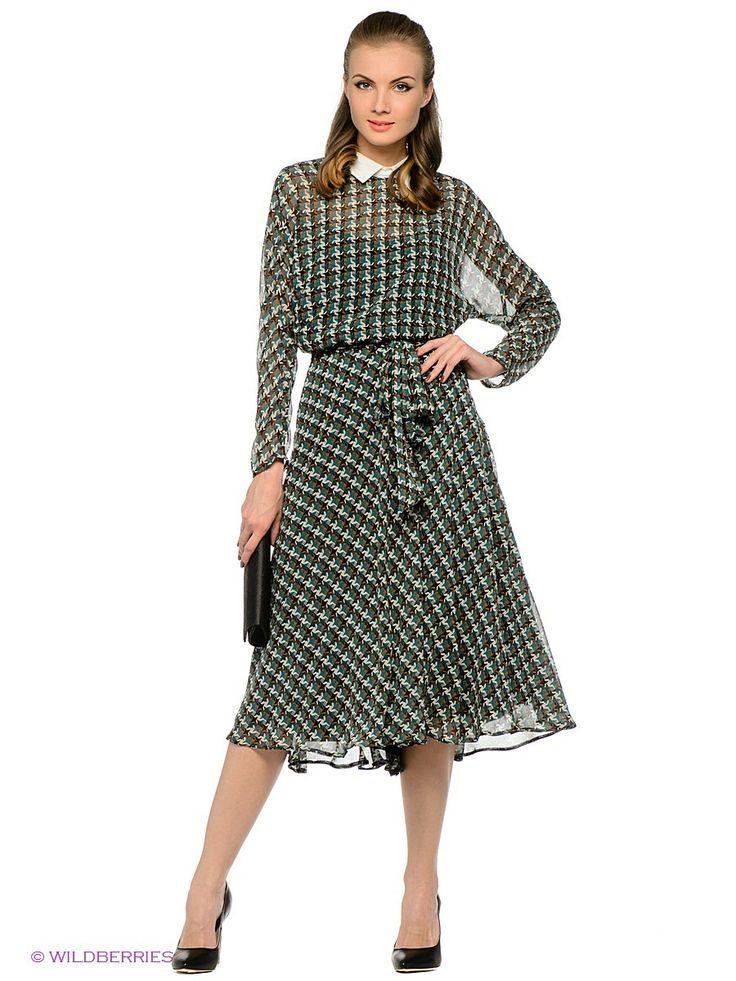 Платье La vida rica. Цвет морская волна, кремовый, белый, черный. Есть отзывы покупателей. Модное платье для создания женственного образа - ...