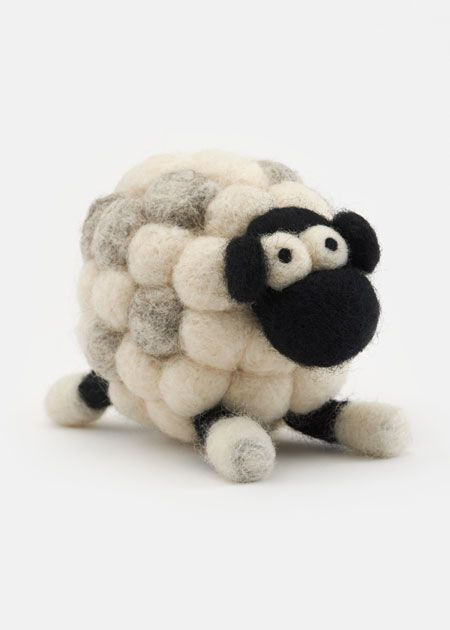 DIY Sheep Ornament Felting Kit | Rodale's
