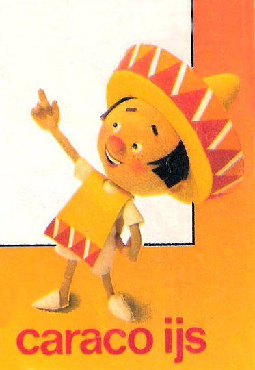 Mexicaantje, oranje hoed, caraco ijs geweldig goed ;-)