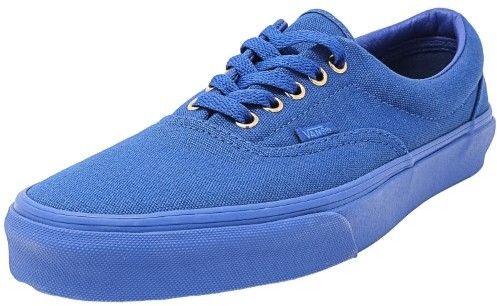 Vans Era Gold Mono Nautical Blue Ankle-High Canvas Fashion Sneaker - 11M / 9.5M