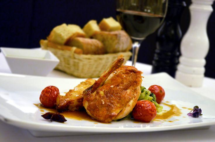 Restaurant Bresto - new menu 2017 - ORGANIC BREAST OF CHICKEN