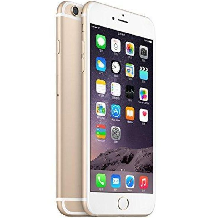 Apple iphone 6 plus 16gb gold att cricket straight