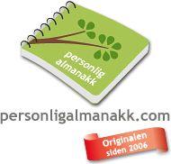 http://www.personligalmanakk.com/NO/   Personlig almanakk
