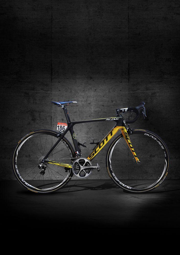 #SCOTT #bikes Bling Matthews has a new ride.