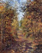 A Path in the Woods, Pontoise  by Camille Pissarro