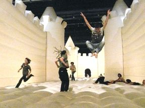 William Forsythe Choreographic Objects: Works & Projects | Bouncy Castle Installation