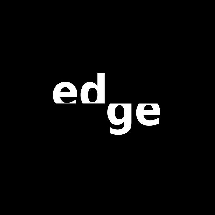 Edge - logotyp