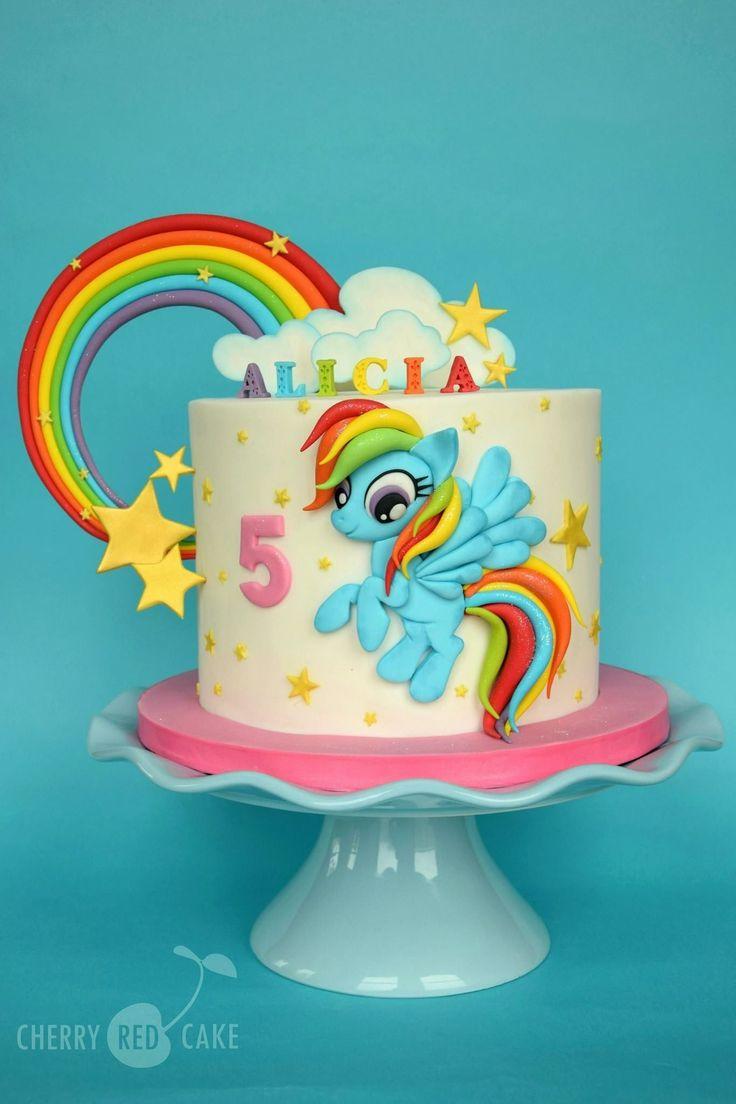 Litle poney in 2020 unicorn birthday cake my little
