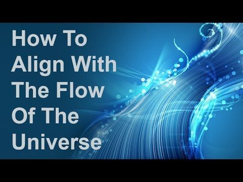 This video explains how to align with the flow of the universe. It explains what the flow is and how to stay know if you are out of alignment with the flow. ...