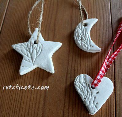 como hacer adornos para el arbol de navidad