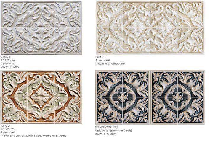 Grace Encore Ceramics Plaques Tile Products And
