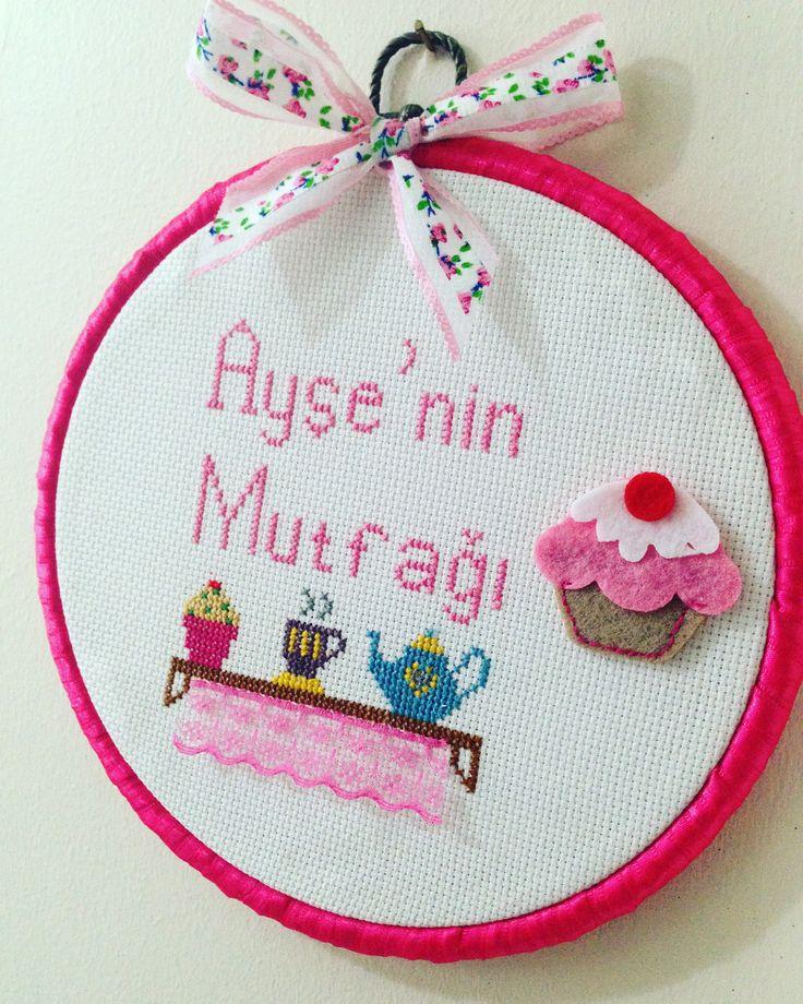 Kanaviçe mutfak panosu / Cross Stitch made by me