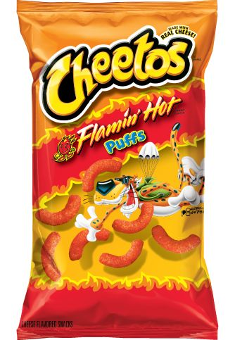 Not regular! Flamin Hot! I really want to try these lol