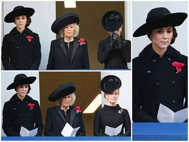 #NEWS #NEW The Duchess of Cambridge joined members of the Royal family for this morning's Remembrance Sunday ceremonies in London. Kate is wearing a coat by Diane von Furstenberg. 13 November 2016 . . . . . . #picoftheday #postoftheday #bestoftheday#Katemiddleton #theduchess #duchessofcambridge #royals #Catherine #elizabeth #princewilliam #beautiful #princess #Kate #middleton #queentobe #catherinethegreat #happiness #royalty #lovethem #british #theduchess #duchessofcambridge #dvf