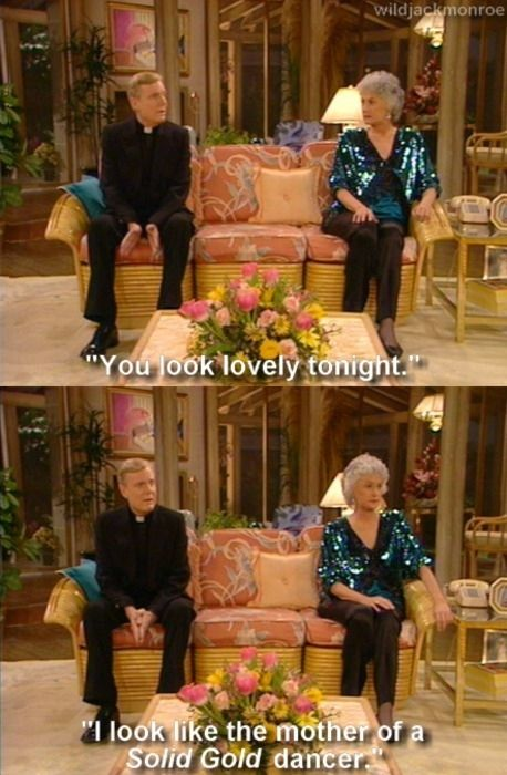 "Sometimes you regret your own style choices. | 28 Ways You Identify With Dorothy From ""The Golden Girls"""