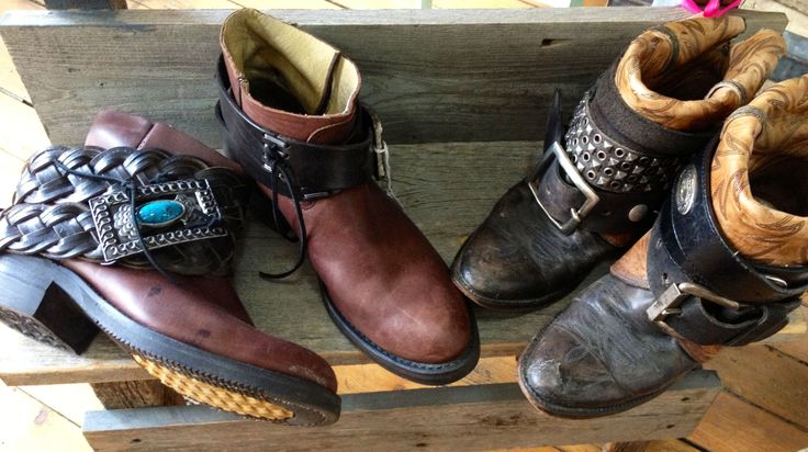 boho boots repurposed cowboy boots