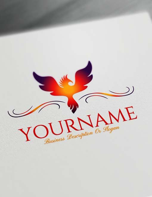 Create a Logo Free Greek Phoenix Logo Maker