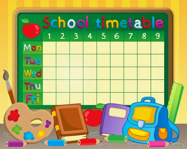 ... School Timetable on Pinterest | Lit timetable, Study and School notes