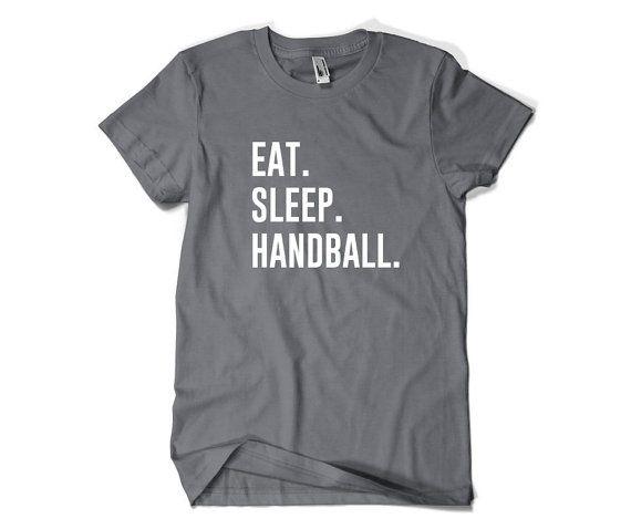 Handball Shirt-Eat Sleep Handball Tshirt Gift by SuperCoolTShirts