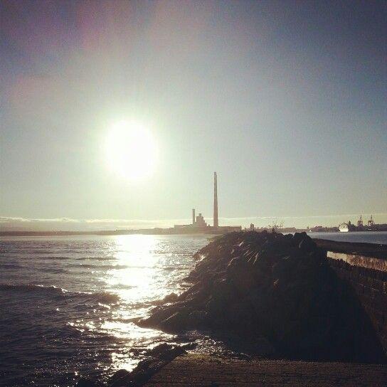 Dublin. Near the lighthouse.
