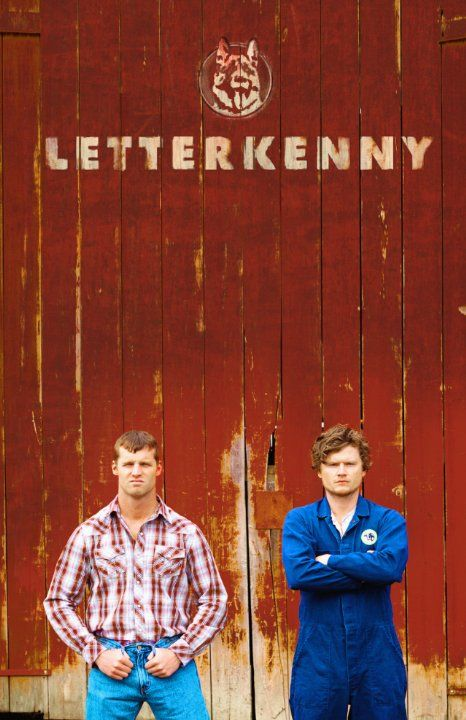 Jared Keeso and Nathan Dales in Letterkenny (2016)