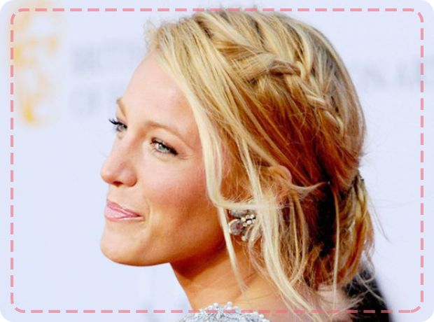 Get Blake Lively's messy braided updo with our latest hair tutorial http://www.bobbyglam.com/blog/2014/04/how-to-get-a-messy-braided-updo/
