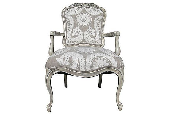 FREE SHIPPING French Victorian Parlor Arm Chair by OrangeNolive, $1225.00