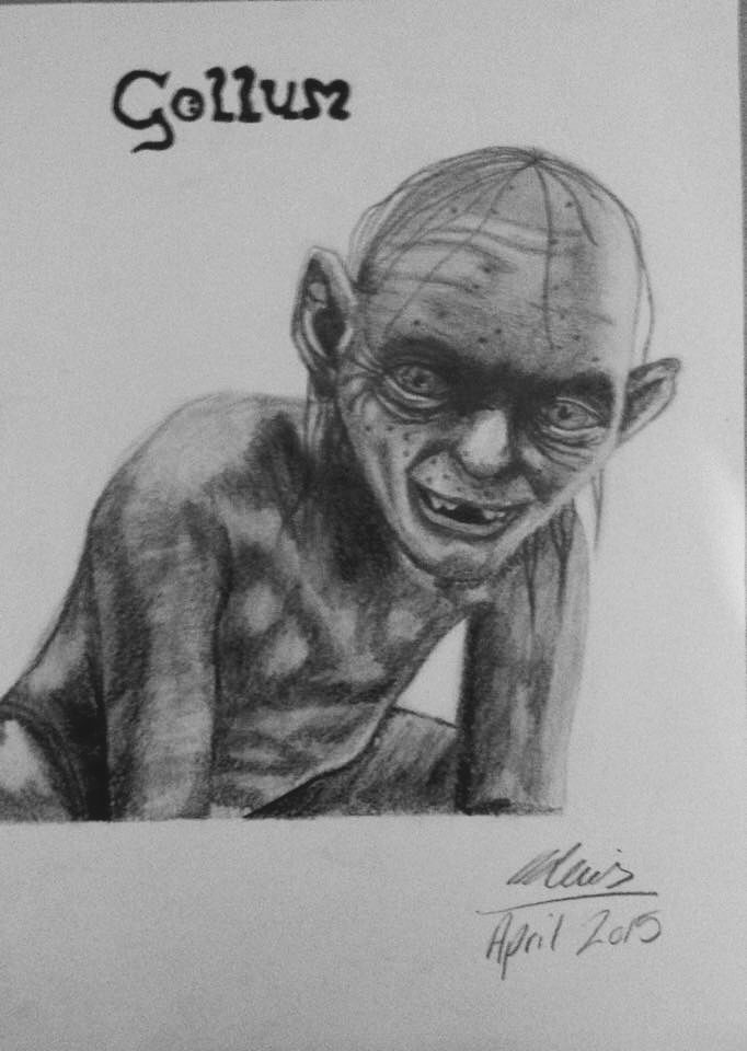 Lord of The Rings- Gollum