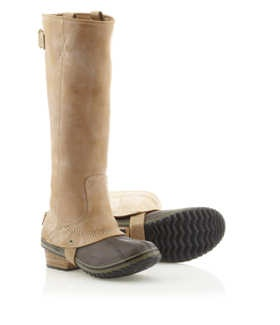 Got the short ones, love em'. Sorel riding boots