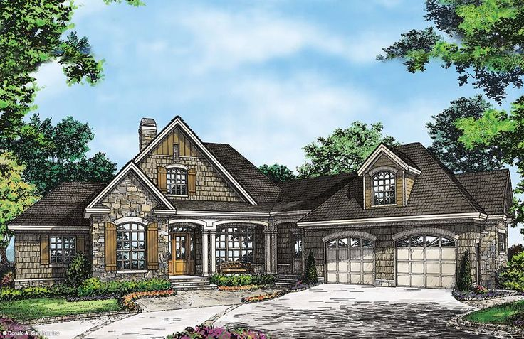 Plan of the week over 2500 sq ft the ironwood 1331 d for 2500 sq ft house plans with walkout basement