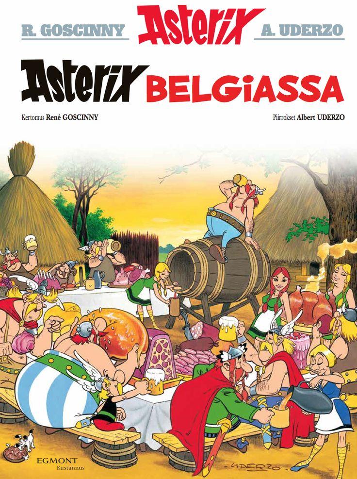 12.12.2015 lehtipisteissä ja kirjakaupoissa! #Asterix #Belgia #klassikko #matkailu