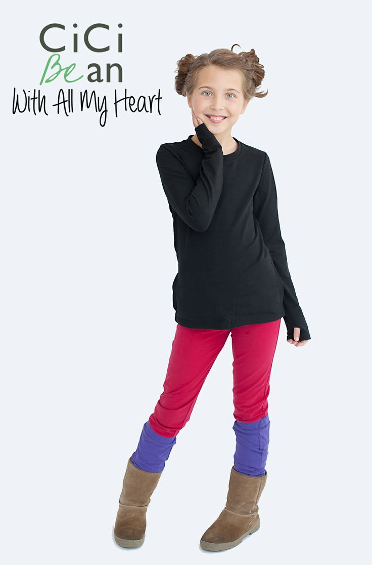 CiCi Bean's With All My Heart collection. | CiCi Bean - clothing for tween girls. | Shop online at www.peekaboobeans.com