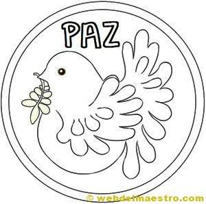 Dibuix colom de la Pau