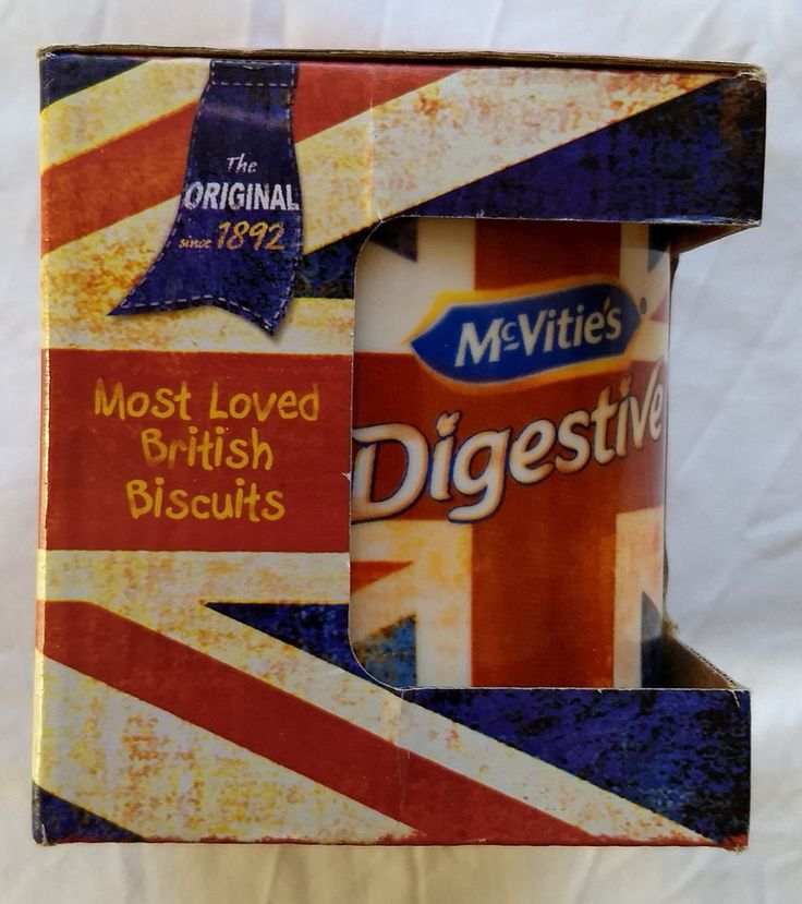 McVitie's Digestives Mug/Cup New in Packaging Christmas Gift for British #McVities